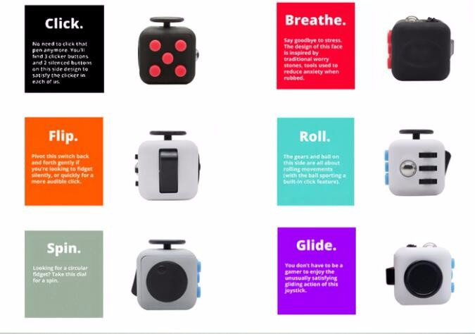 Cheapest Fidget Cube With Button Anti Irritability Toy Stress Fidget Vinyk Tol Desy,magical cube