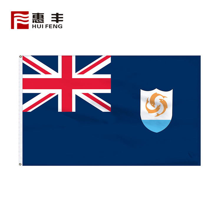 Oem Welcome High Quality Anguilla National Flag For Sale