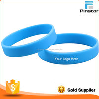Give It Away Promotional Custom Logo Rubber Bracelet Silicone Wristband