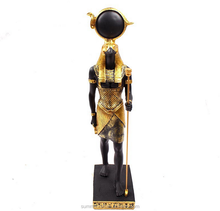 Classical egyptian sun god.resin egyptian statues wholesale