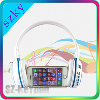 LCD Bluetooth Headphone Smart Coreless FM Radio Wireless Bluetooth Headset