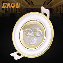 Office home use 3W 3x1 5W 7W 10W recessed led ceiling downlight