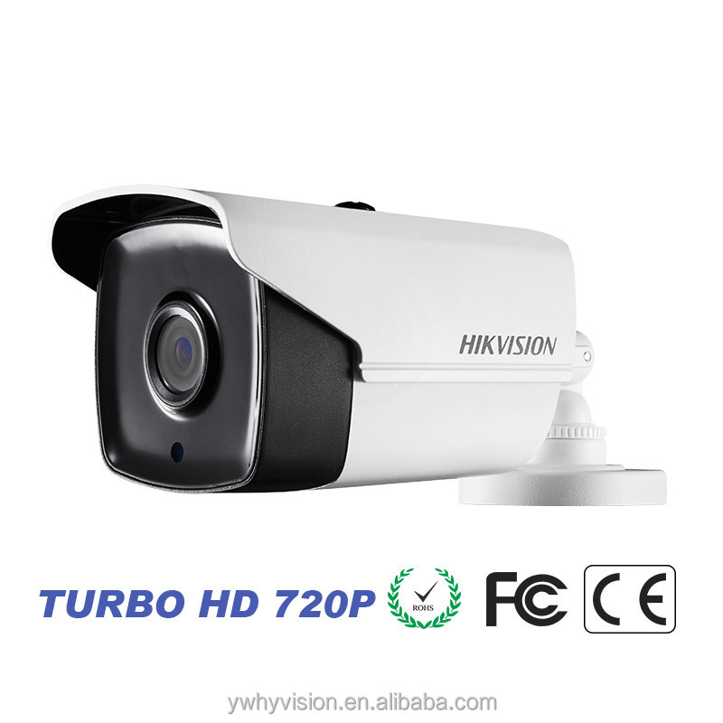 DS-2CE16C0T-IRPhikvision cctv system home <strong>security</strong> HD720P cheap 40m night vision camera 1MP IP66 EXIR Bullet Camera