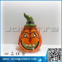 Ceramic Halloween pumpkins, fiber optic halloween pumpkins
