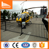 Powder Painted Crowd control Outdoor Fence, metal crowd control barrier, traffic plastic pliable barrier