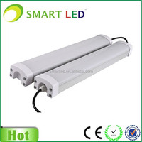 Aluminum housing 20W 40W 60W IP65 and Tube Lights Led Tri-Proof Light Fixture