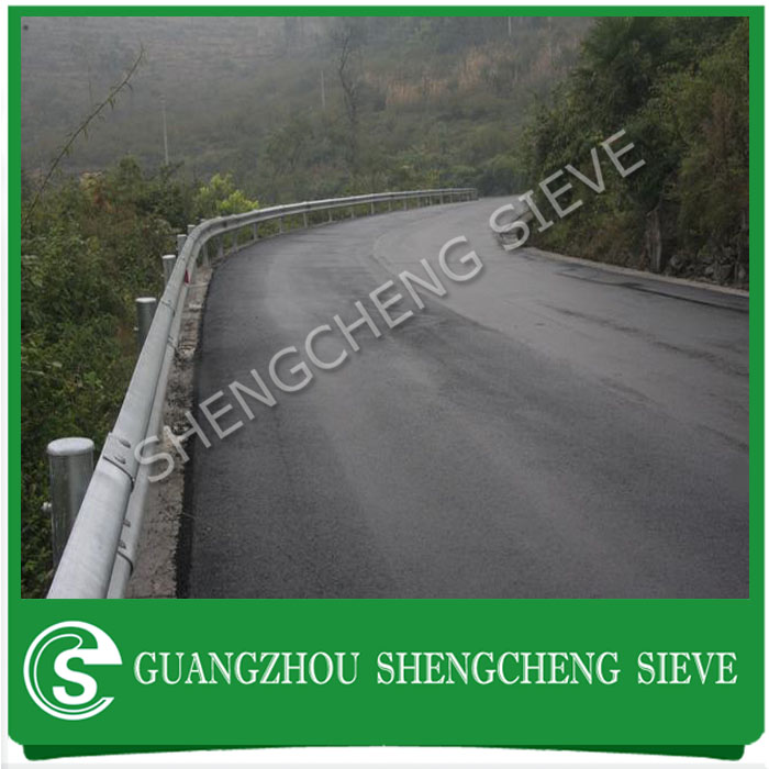 China manufacturers w beam barrier cottugated guardrail used in country road,bridge, urban road, highway