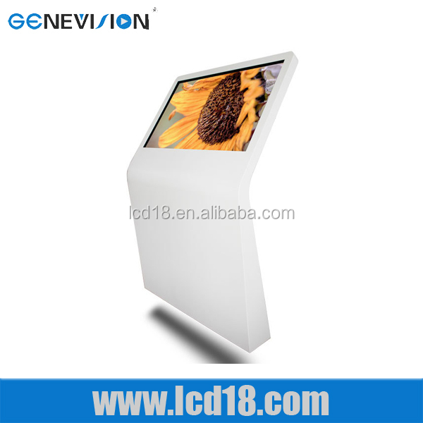 42 inch POS ad Displays digital text sound graphics images embedded devices exotic forms lcd ad displayer
