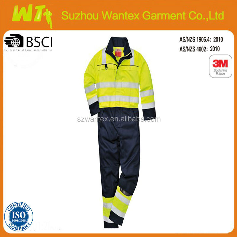 2 tone Reflective Security Work Uniform/Coverall