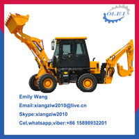 Front end loader tire for backhoe loaders