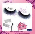 Super Charming Luxury Coloful100% Real Mink Fur False Eyelashes