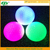 Novelty glow led golf balls flashing rubber balls