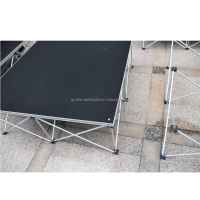 Cheap aluminum removable stage portable stage 1m* 1m stage