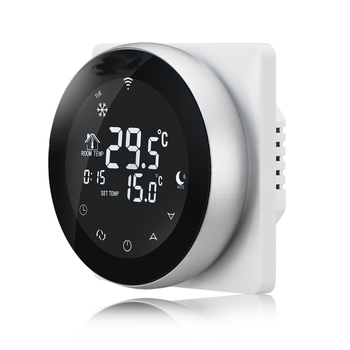 Smart Touch Screen Digital Room Wifi Thermostat to control electric thermostat heater