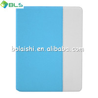 Hot selling case for ipad5 ,flip cover wallet case for ipad air