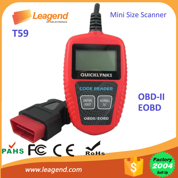 Mini size Professional OBD tool Diagnosis Equipment Scanner OBD