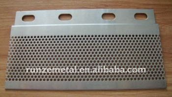 Punching & bending sheet metal part