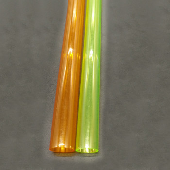 China YJ factory offered free sample colored plastic tube,small plastic pipe
