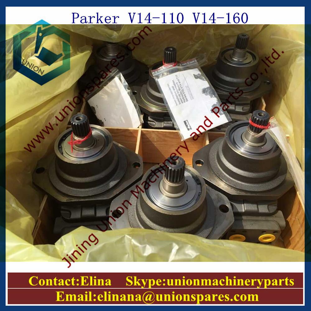 Parker v14 110 hydraulic motor v14 160 hydraulic pump for Parker hydraulic motor distributors