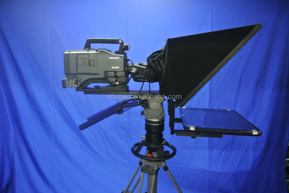 high brightness 17/19 inch LCD monitor portable Professional Teleprompter for Speech and meeting