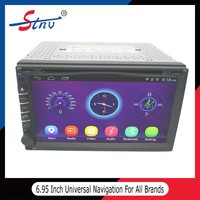 6.95 inch android 4.4.4 car gps universal navigation multimedia system