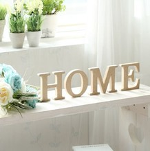 Wooden Letter for sale ,home decorative signs,small wood letters for crafts