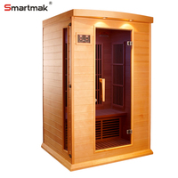 Pre cut home infrared sauna with overall body improve function