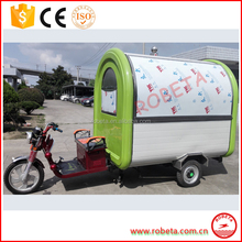 2016 big quantity supply china mobile food cart/food cart business franchise