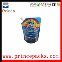 stand up juice packaging spout pouch/milk spout pouch/jelly packaging spout pouch