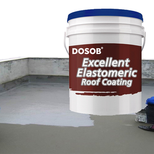 High Elastic Liquid Acrylic Water Resistant Paint for Concrete Roof Surface