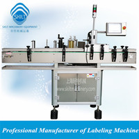 Automatic cosmetic round bottle label applicator - adhesive sticker 0086-18917387699