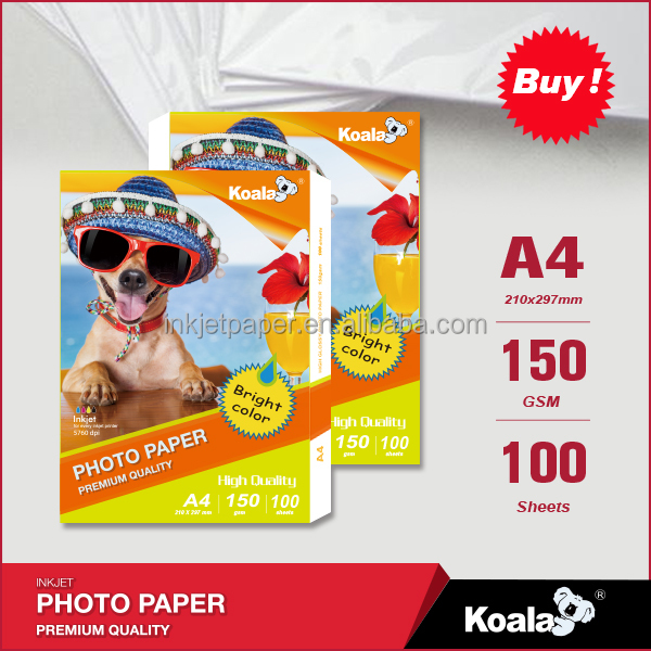 Hot Sell Inkjet photo paper ,Factory wholesale glossy inket paper