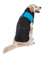 large dog bodywarmer clothes(XS-XL) big size dogs padding jacket 4 colours golden retriever's ski vest winter wears