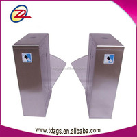 304 Stainless steel access control system China factory automatic flap barrier gate with free software