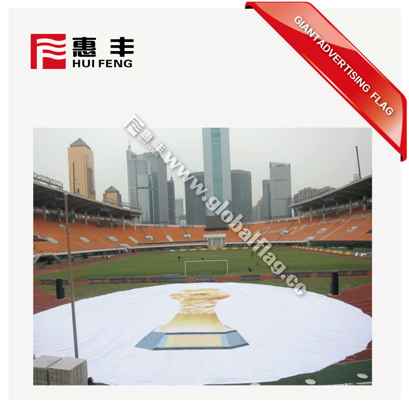 Advertising football world cup Big Huge Giant Flag
