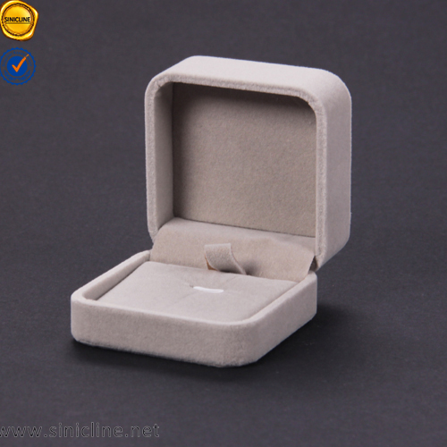 SInicline 2016 royal quality luxury style velvet ring Individual jewelry boxes/jewlry boxes