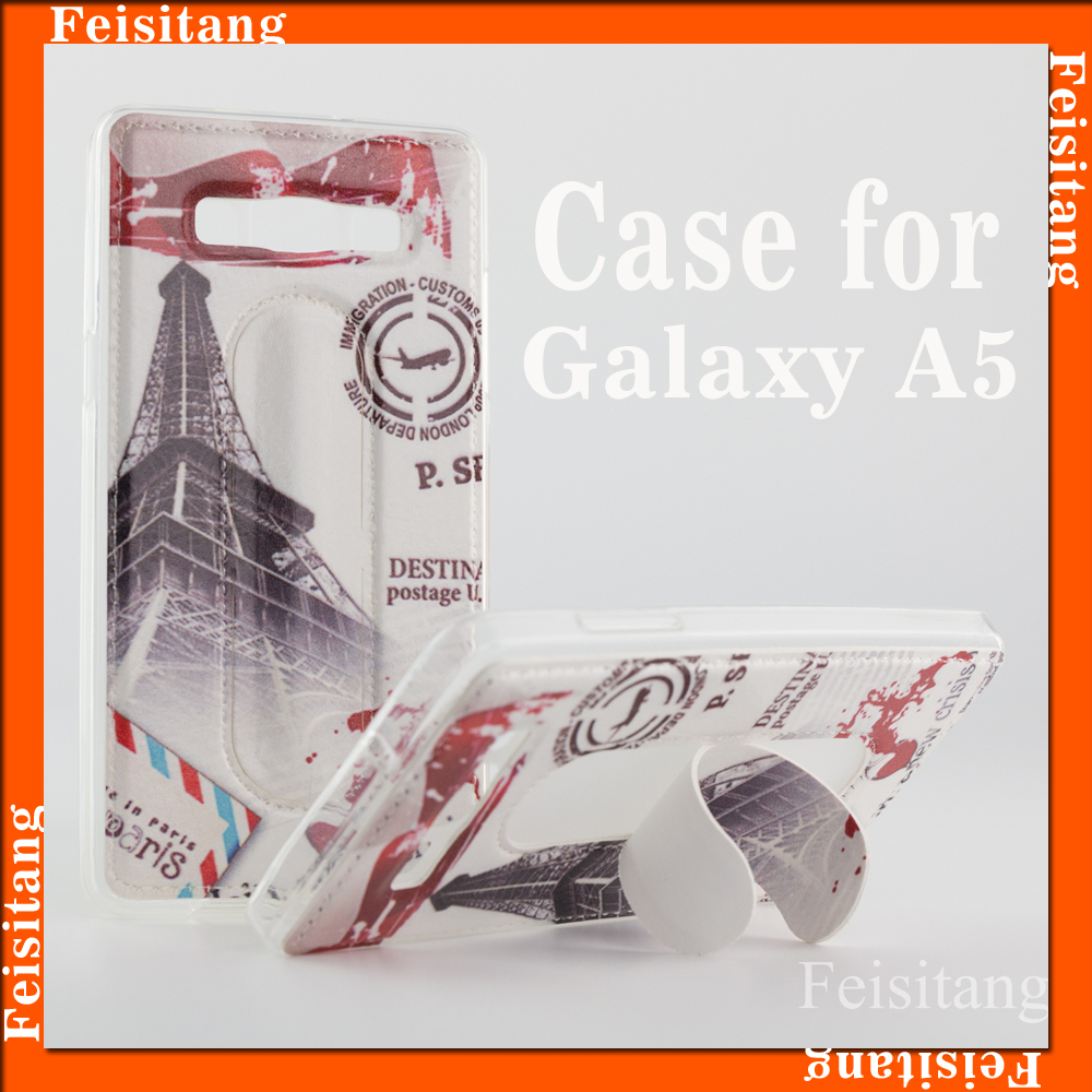 custom case for Samsung galaxy A5, Coloured Drawing mobile phone cover for Samsung Galaxy A5000