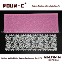 Silicone cake mold,cake lace silicone mat,decorating lace maker