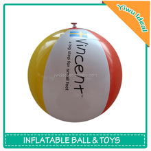 Custom Imprint Kids Inflatable PVC BeachToy Ball