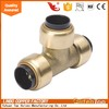 "LB-Guten Top 1""*1""FNPT Brass Equal Tee for Pex Pipe"
