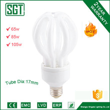Good price!!! Electrical Lotus shape energy saving lamp supplier