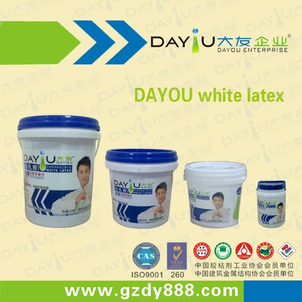 JY210 white latex glue for wood working or decoration