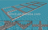 fish cage manufacturers Blue Ocean System Farm fish cage square cages