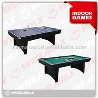 WINMAX 2 in 1 air hockey table with pool table