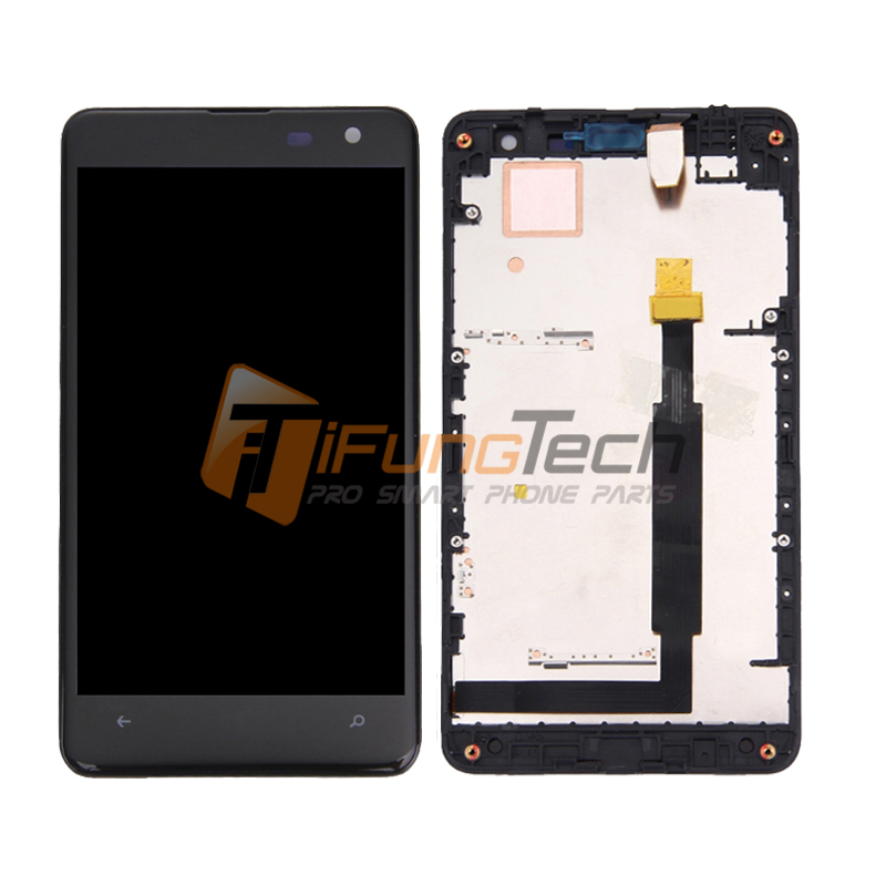 100% Tested Original Mobile Phone LCD With Digitizer For Nokia Lumia 625 Display with Touch Screen + Frame Assembly