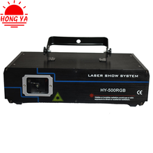 500mw high quality party rgb animation mini stage laser light