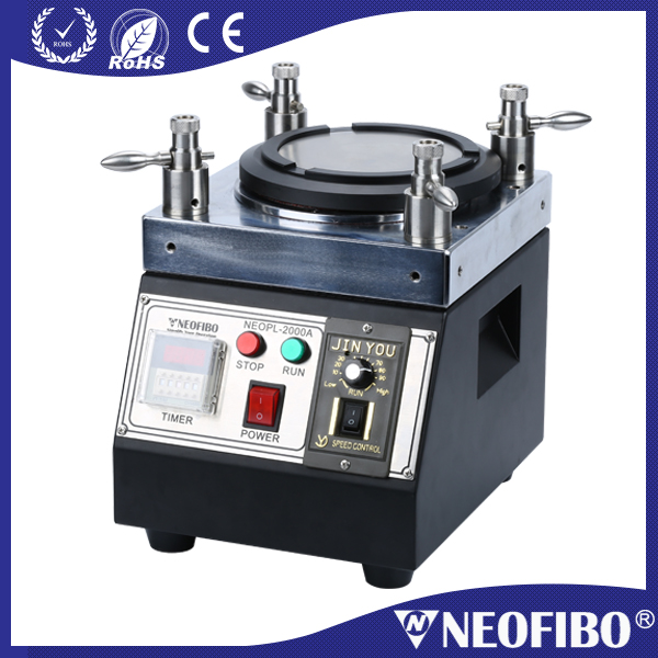 China high efficiency fiber polisher equal to Seikoh Giken NEOPL-2000A four corner fiber optic polish machine