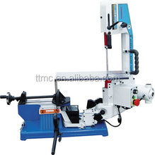 BS-100V Mini Metal Cutting Band Saw, TTMC Variable speed bandsaw