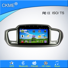 "10.1"" android system navigation GPS bluetooth car stereo car dvd player fit for Solante"