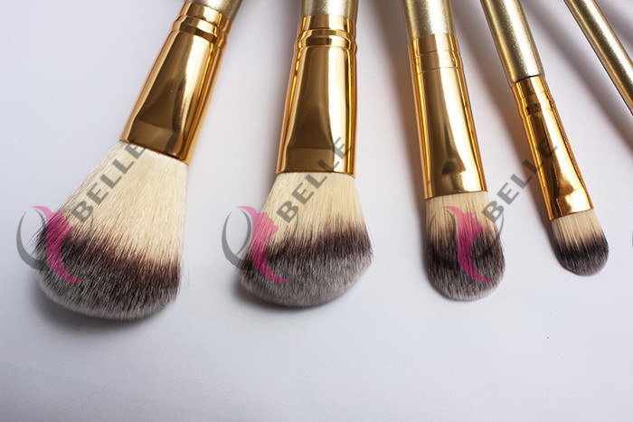Designer factory direct wood hand normal custom made make up brush